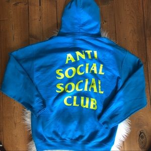 Anti Social Social Club Kim Collab Hoodie L